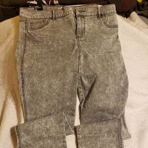 NWT NY&Co distressed jeggings